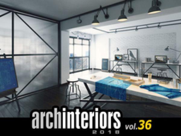 10个办公区3D模型下载Evermotion Archinteriors Vol.36