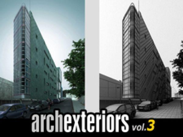 10套异形建筑外观3d模型下载 Evermotion Archexteriors Vol.03