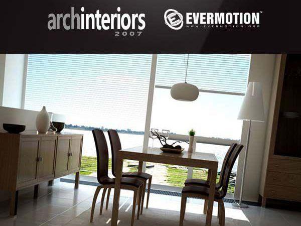 10个客厅/餐厅/候机厅/酒吧吧台3d模型下载 Evermotion Archinteriors vol 11