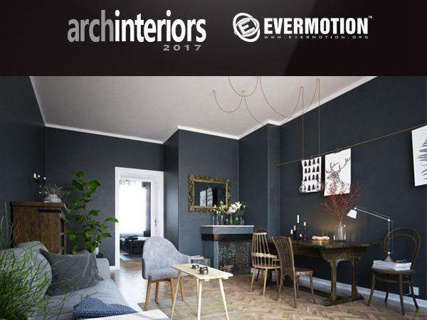 10套室内场景客餐厅3d模型下载Evermotion Archinteriors Vol.48