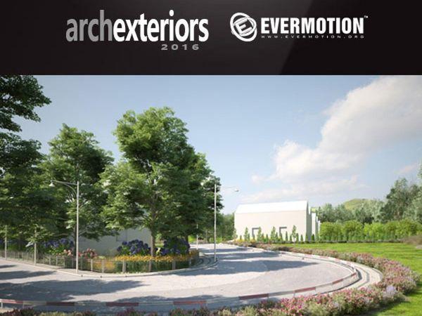 10套国外写实室外别墅3d模型下载Evermotion-Archexteriors vol 30