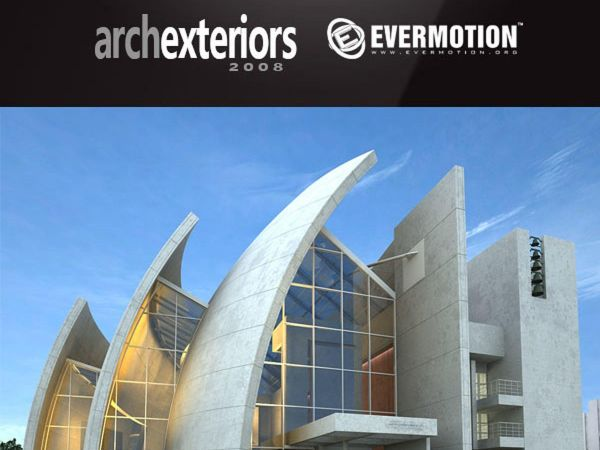 10套创意建筑3d模型下载 Evermotion-Archexteriors vol 7