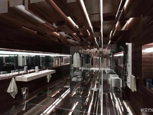 卫生间/复式公寓/教堂/餐厅/石柱大厅3D模型下载Evermotion Archinteriors Vol.5