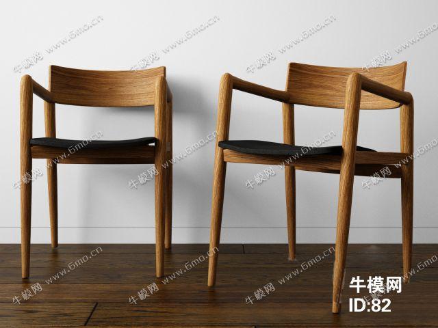 餐厅实木椅子下载