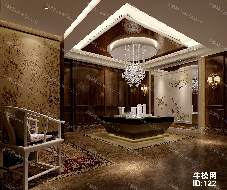 新中式售楼处