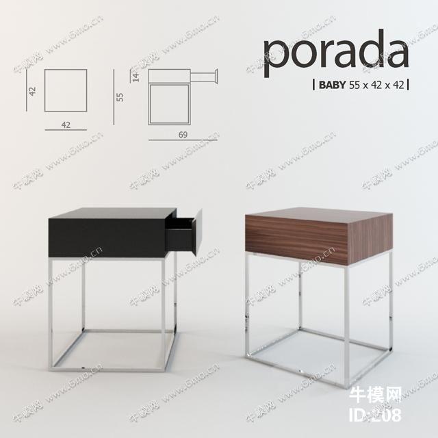 现代实木单人书桌