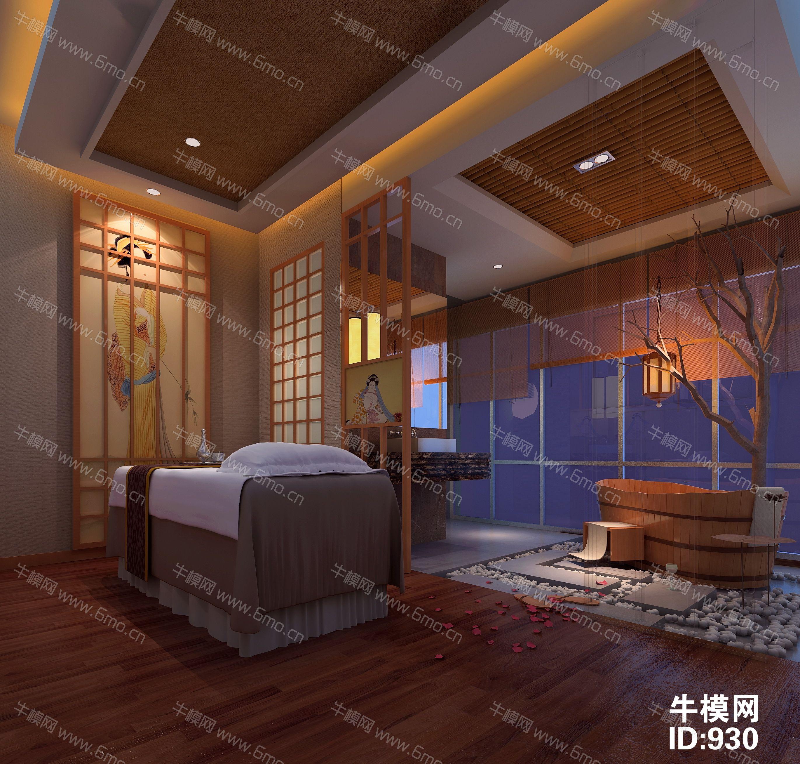 日式会所洗浴中心