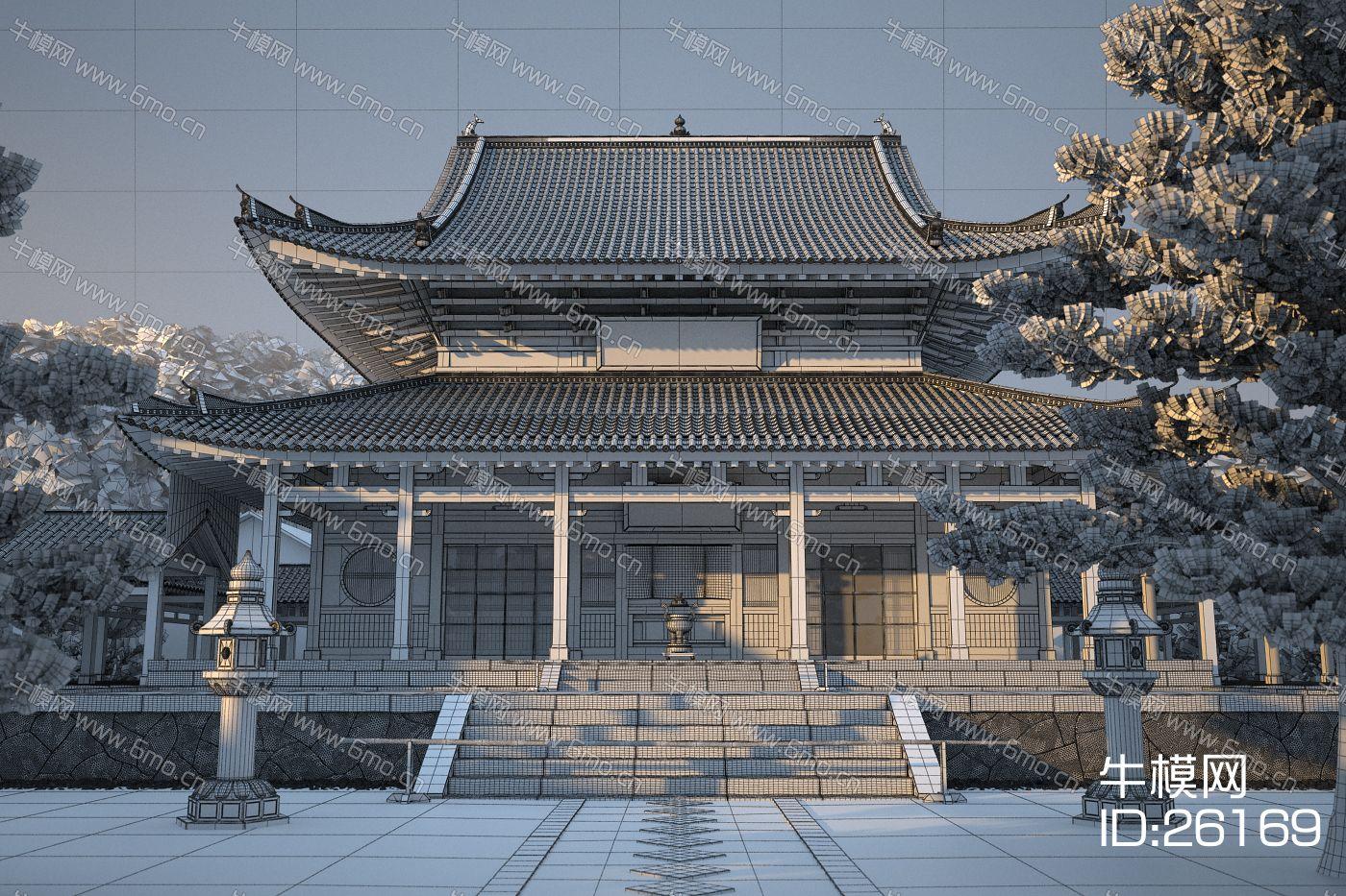 中式建筑外观