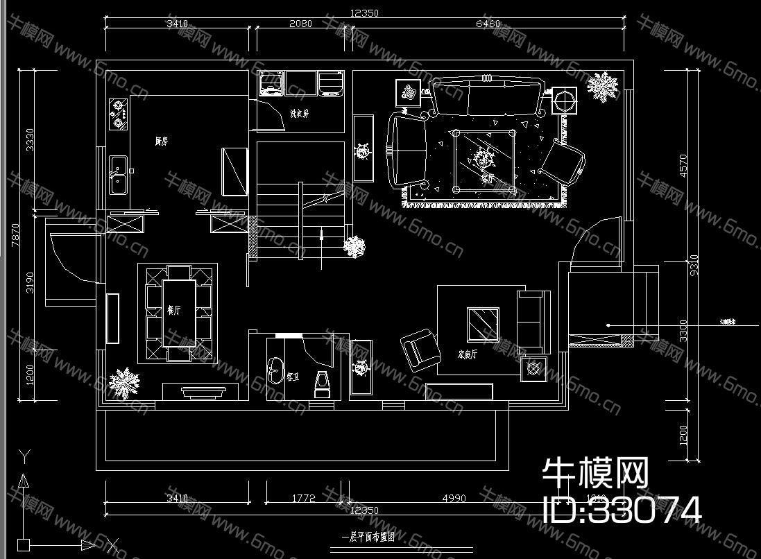 三层别墅施工图