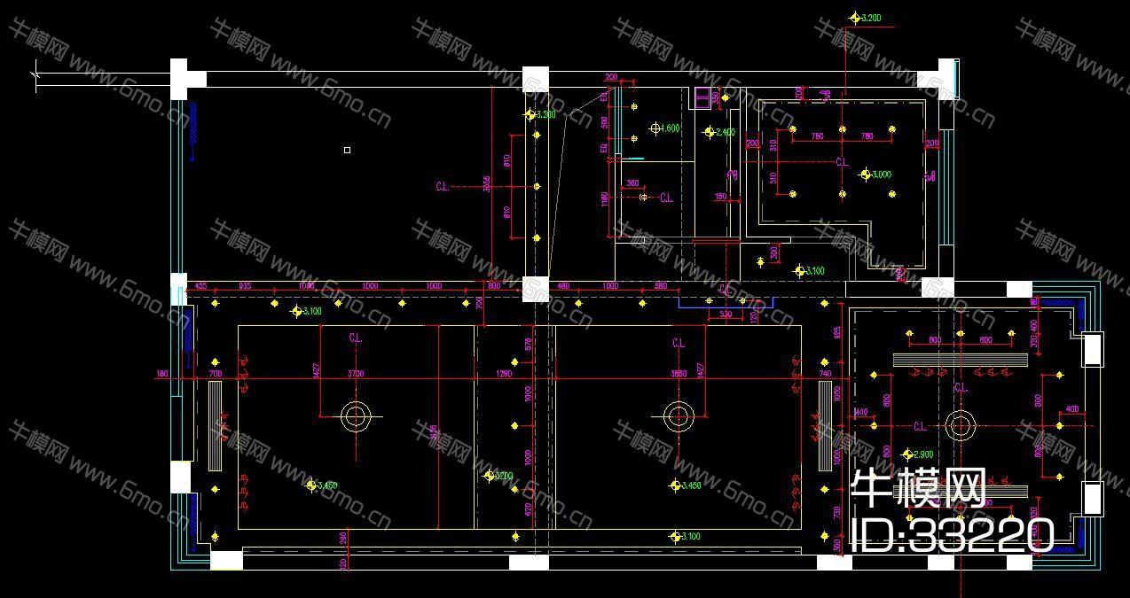 现代装饰设计施工图