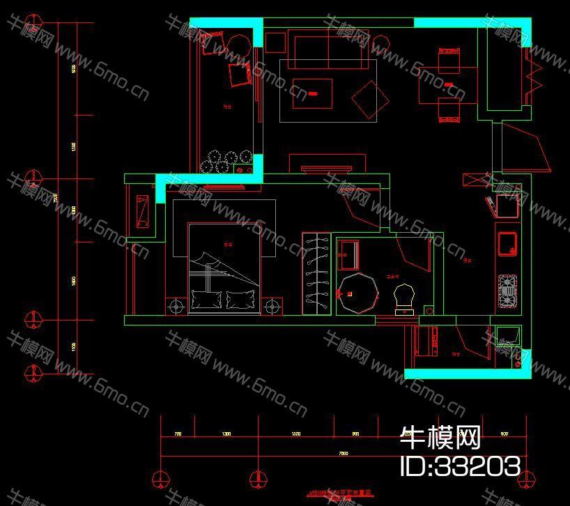 万达精装房设计施工图