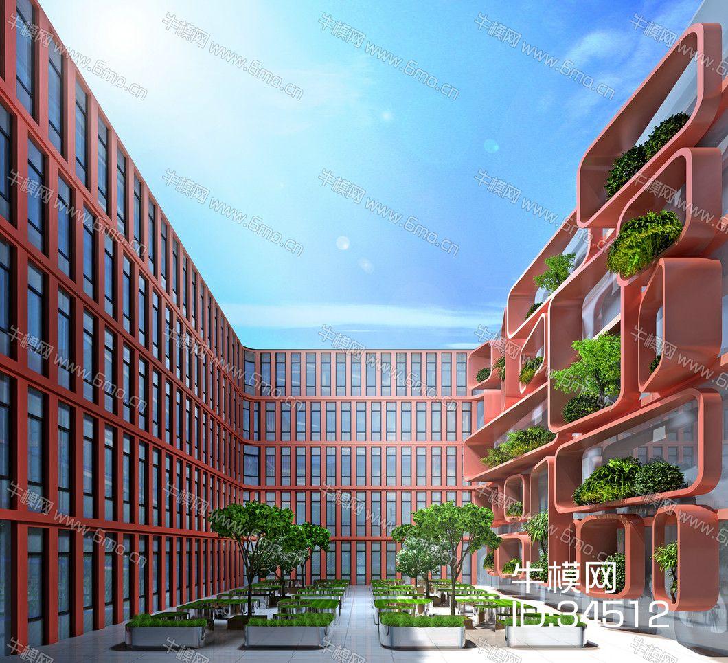 现代风格室外建筑