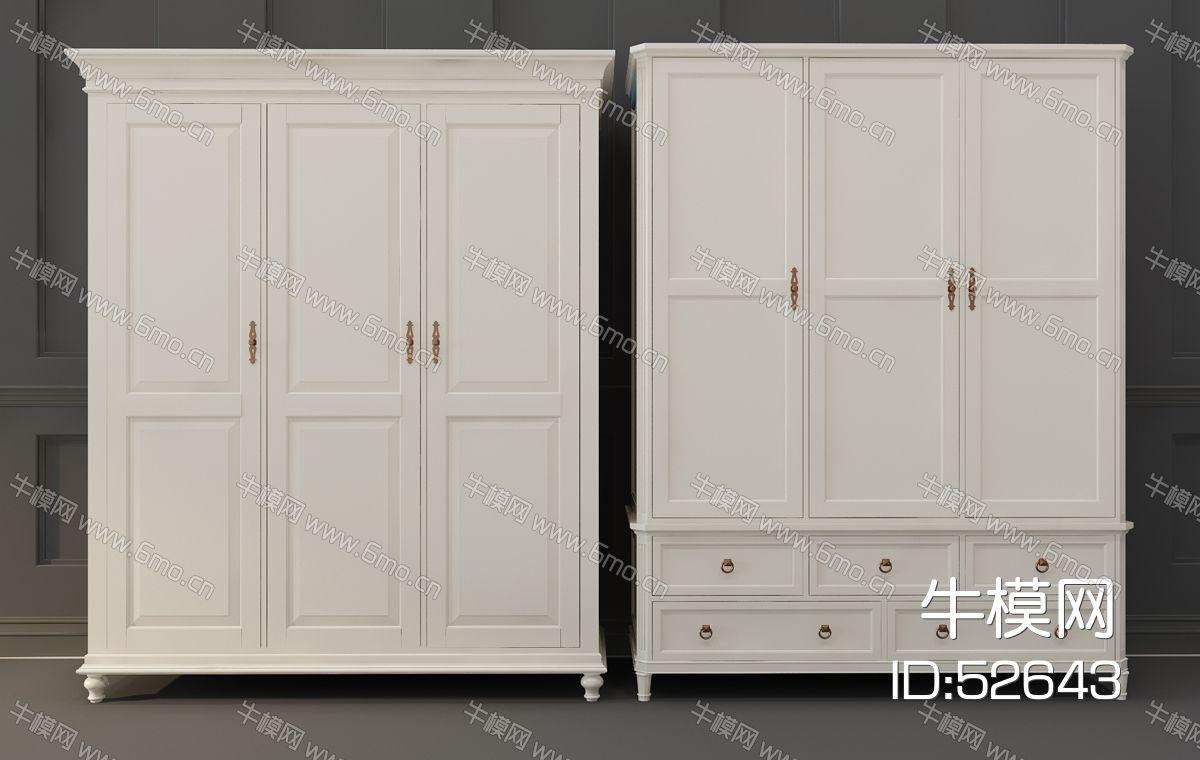 简欧式衣柜