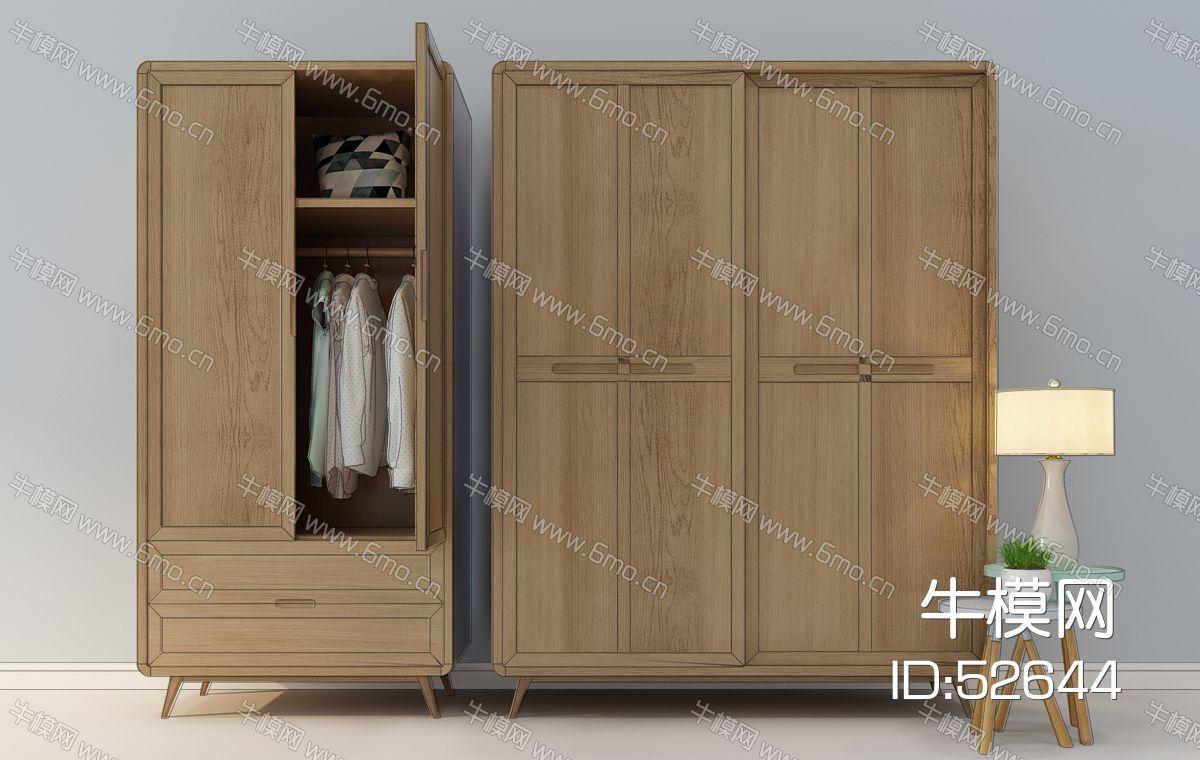 新中式现代衣柜
