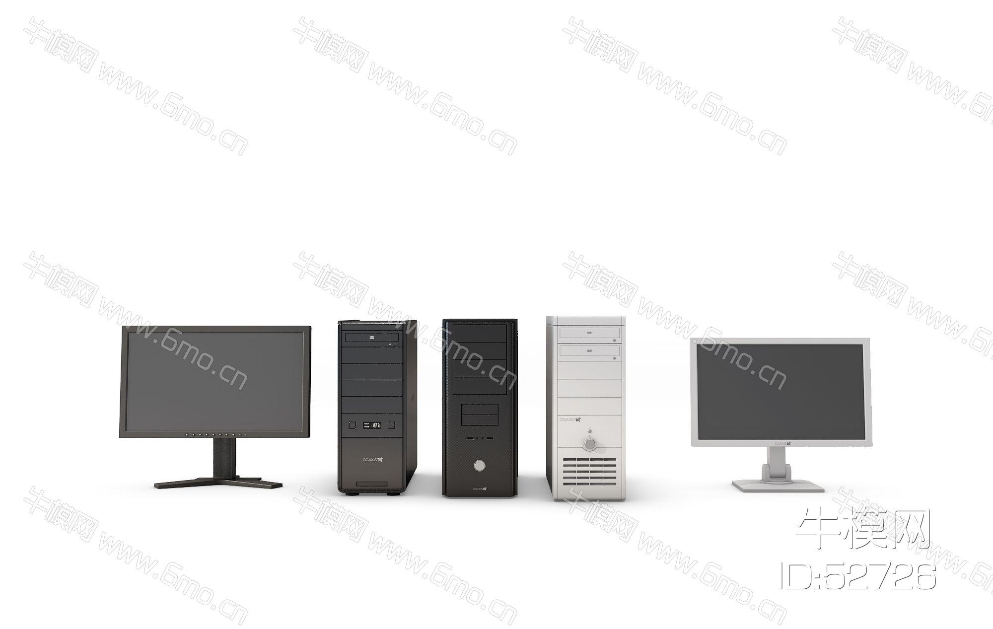 台式电脑组合