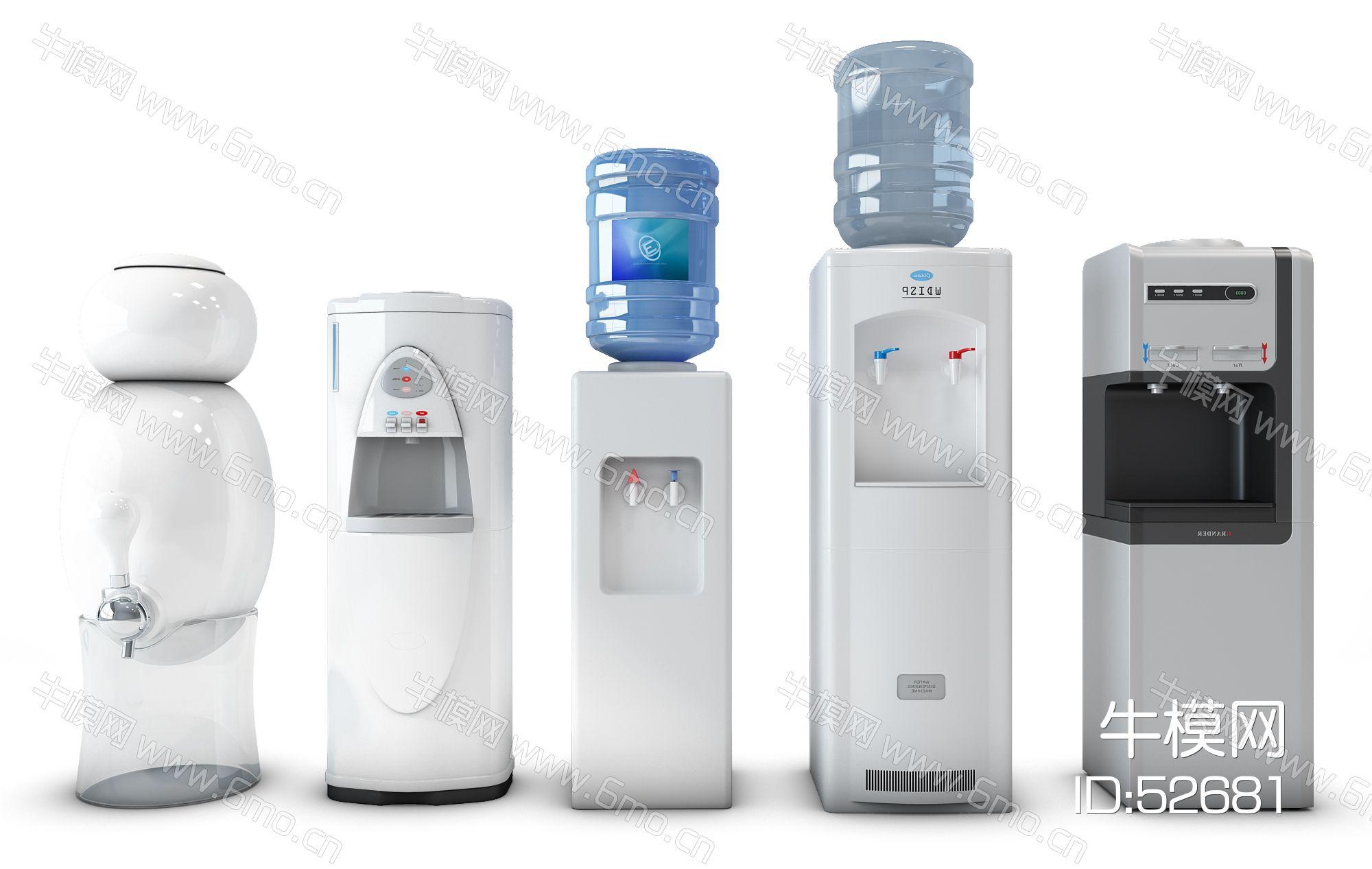 现代饮水机组合