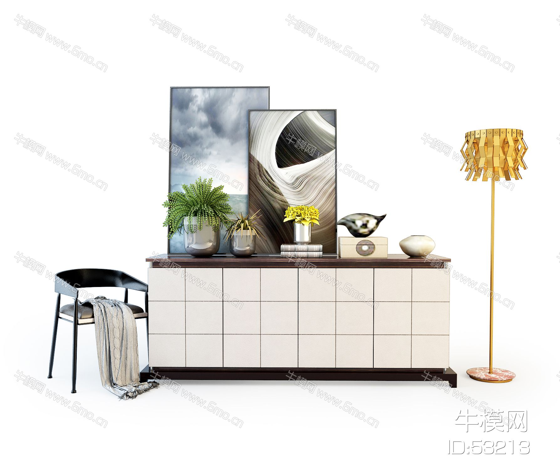 现代装饰柜