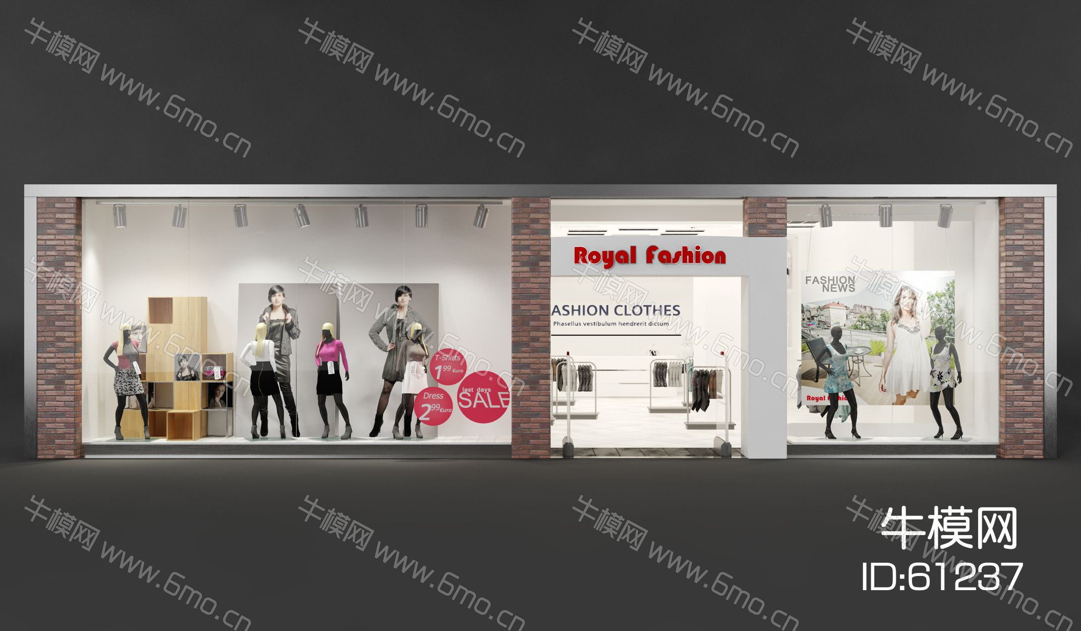 3d透明玻璃材质_现代橱窗,橱窗,商业橱窗,商铺橱窗,店面橱窗,店铺橱窗3D ...