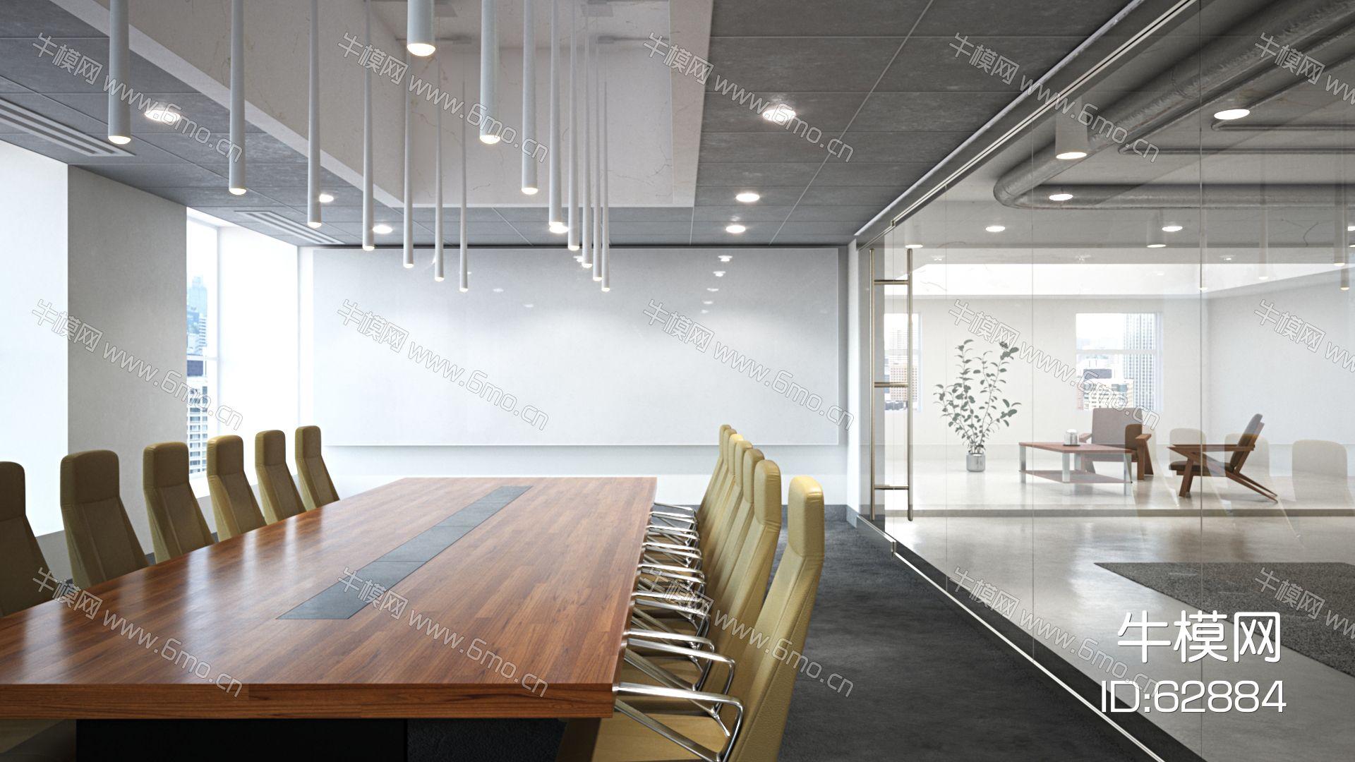 现代会议室,会议厅,会议桌椅,多功能厅,办公空间,办公室,演示厅