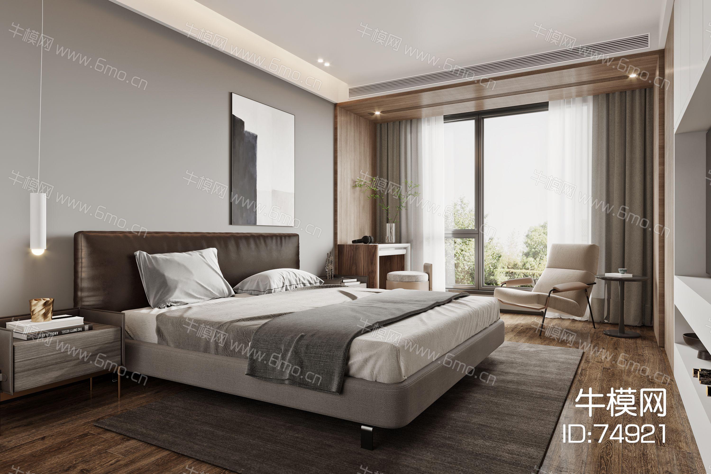 艾巴优-2020VIP学员投稿作品-新中式卧室