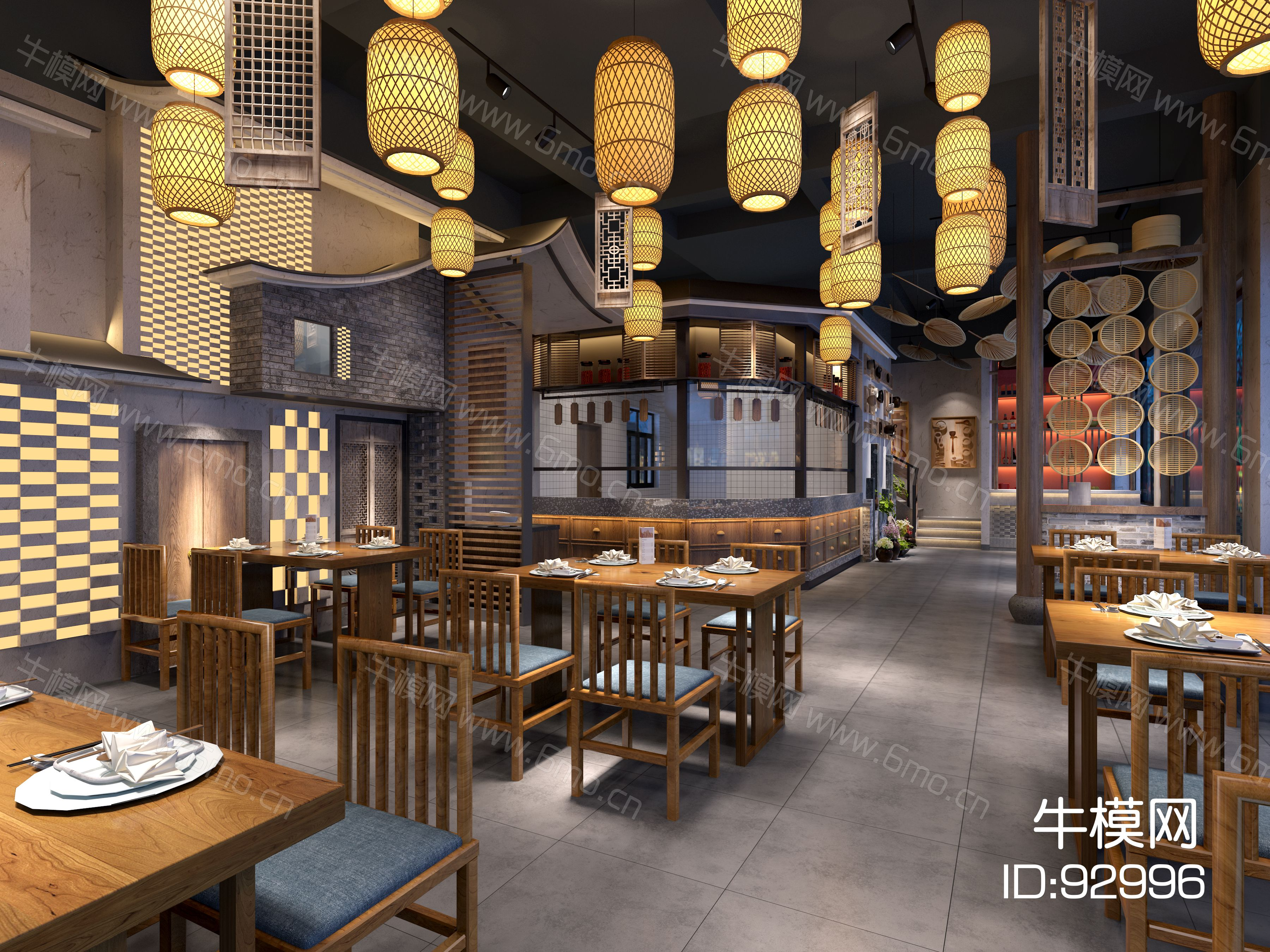 艾巴优-2020VIP学员投稿作品-中式餐厅