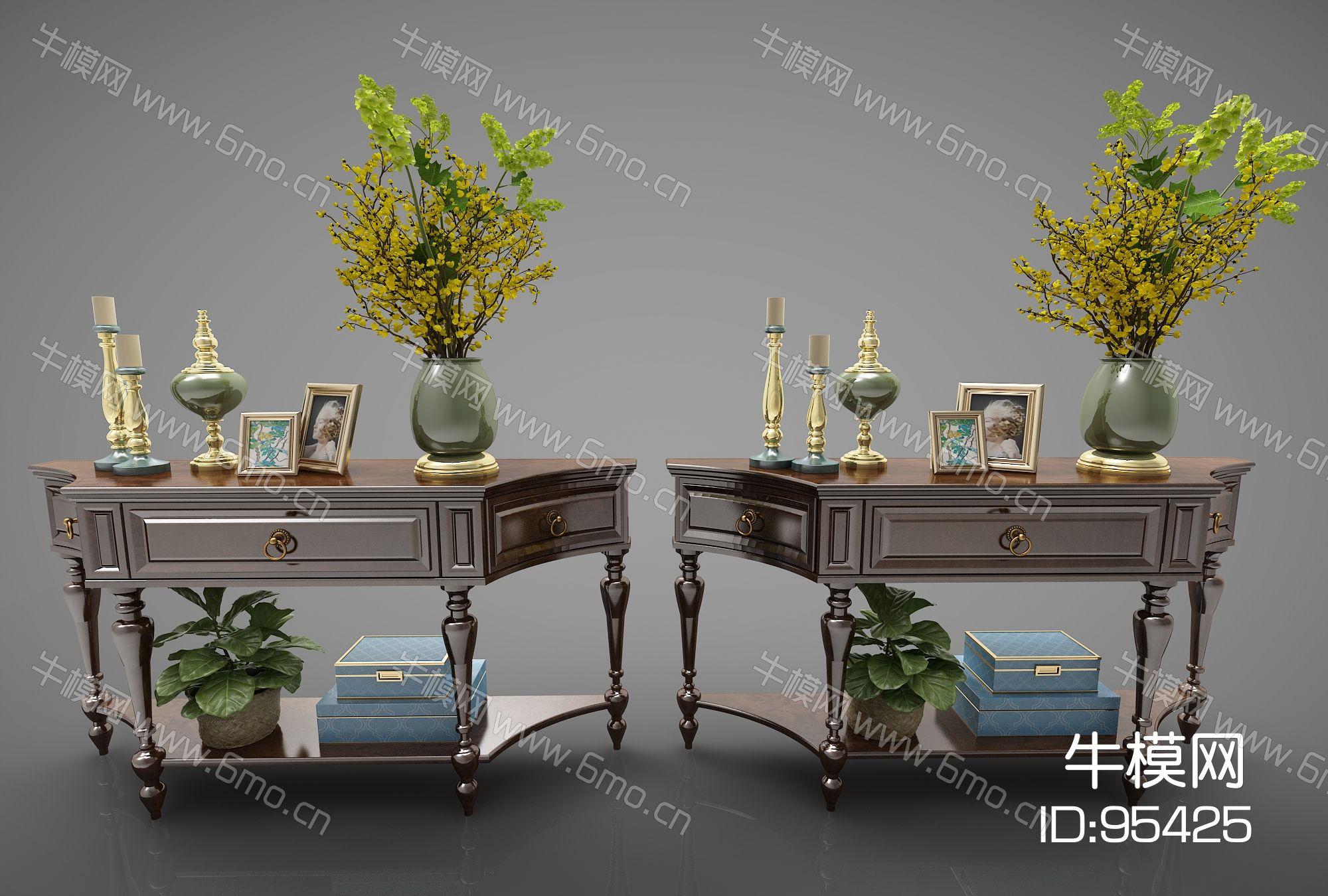 现代风格装饰柜