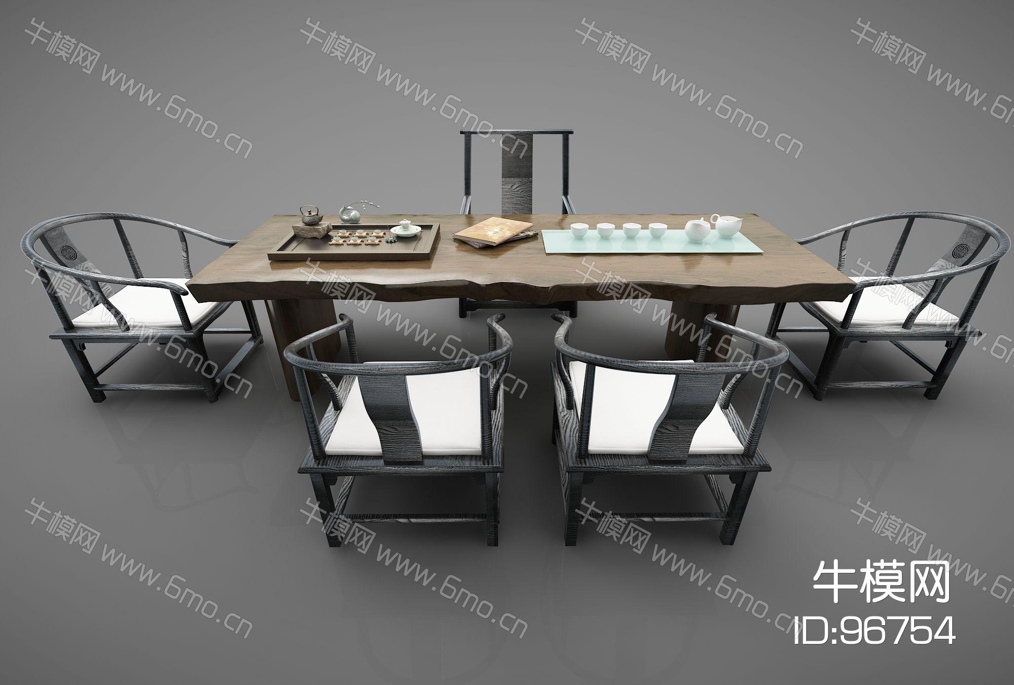 新中式风格书桌360(2016)
