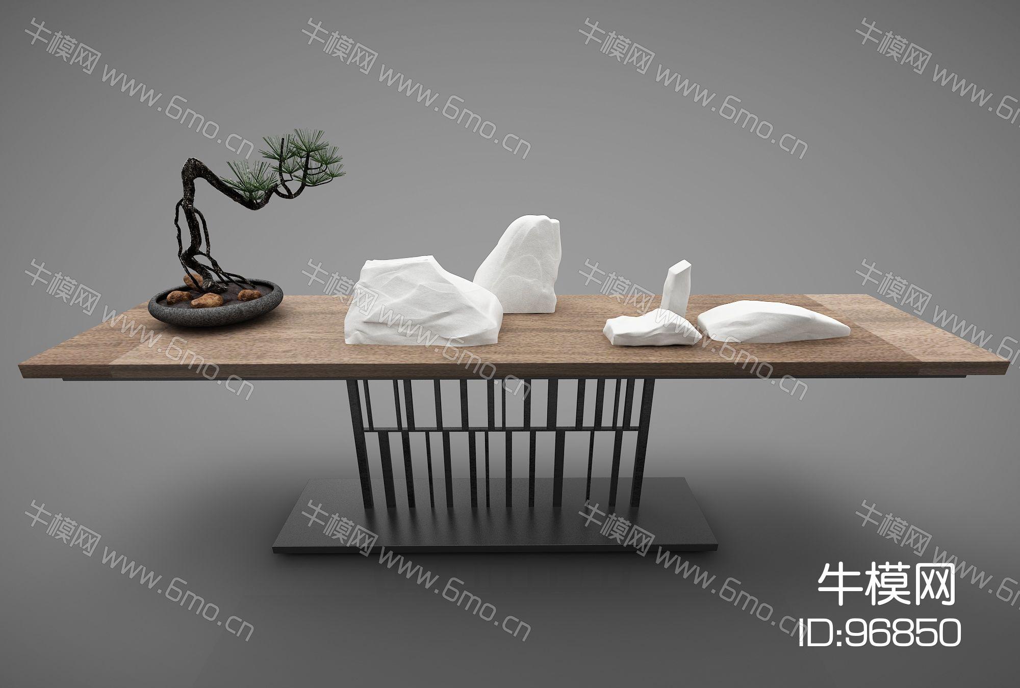 新中式风格装饰桌383(2016)