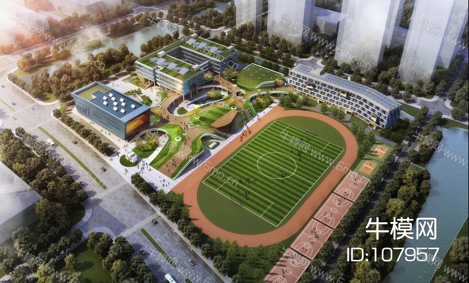 宁波效实中学东部新城校区概念方案联创正是