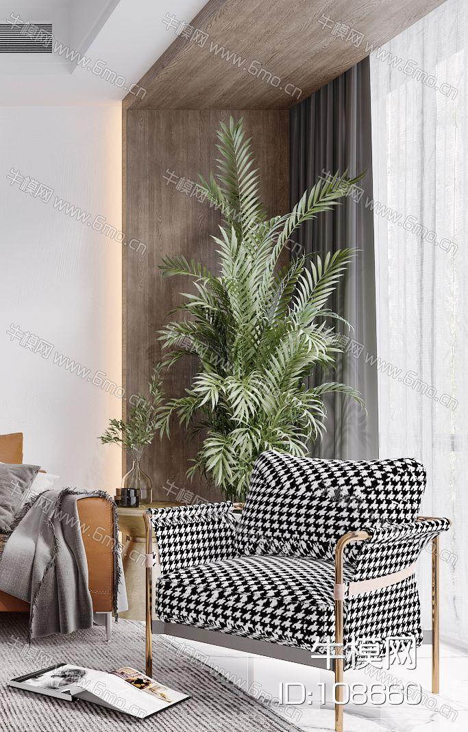 现代简约北欧轻奢风格客厅