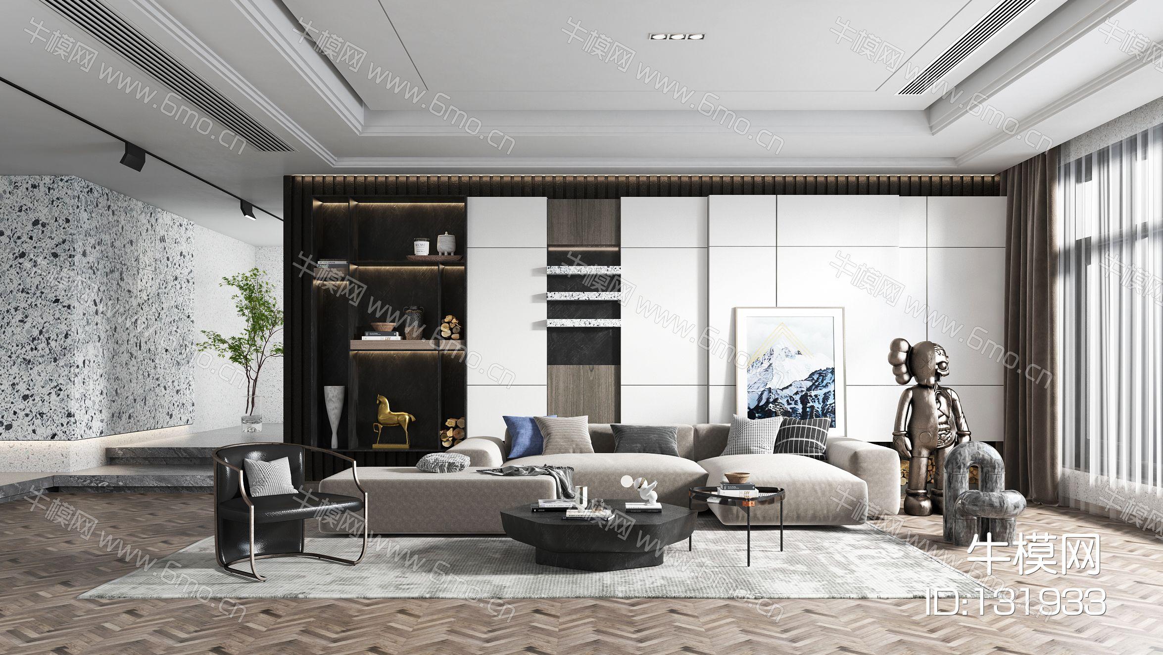 现代简约风格客厅