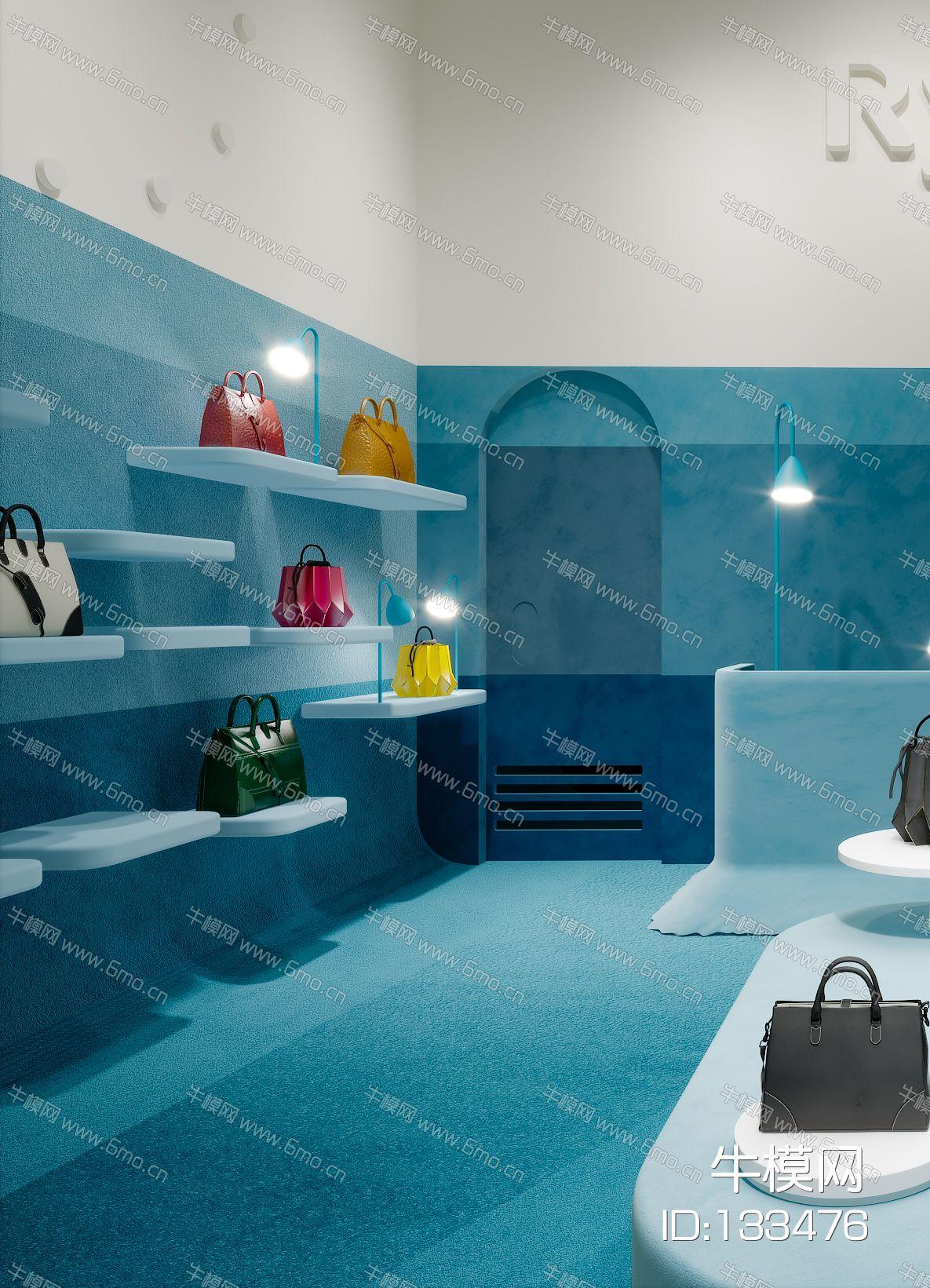 现代简约北欧轻奢风格服装店