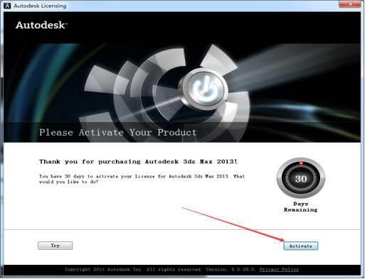 3dmax2013【3dsmax2013英文32位】英文版(中英切换)安装图文教程、破解注册方法