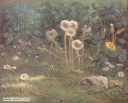 米勒油画作品装饰画