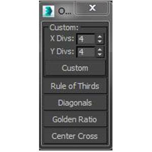 3DMAX相机黄金分割线软件插件下载_id:81 英文版 64位 下载