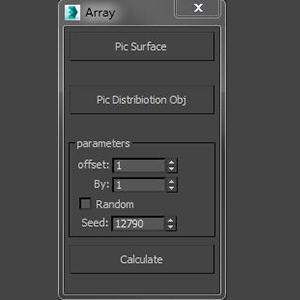 3DMAX散布插件工具下载