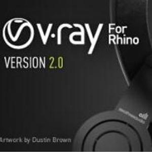 vray2.0 for rhino【支持rhino5】渲染器破解版64位  32位 下载 英文版 32位/64位 下载