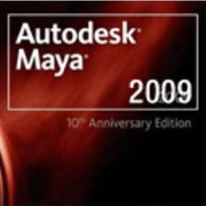 Maya2009【Autodesk 玛雅2009】中文(英文)破解版64位 / 32位 下载 简体中文版 64位/32位 下载
