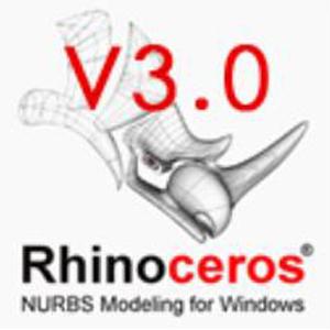 Rhino 3d【犀牛 3.0】官方破解版免费64位 / 32位 下载 英文版 64位/32位 下载