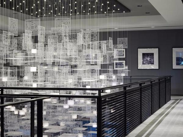 乐尚设计丨 西安保利中央公园售楼处:留驻记忆温情,构筑时代影像