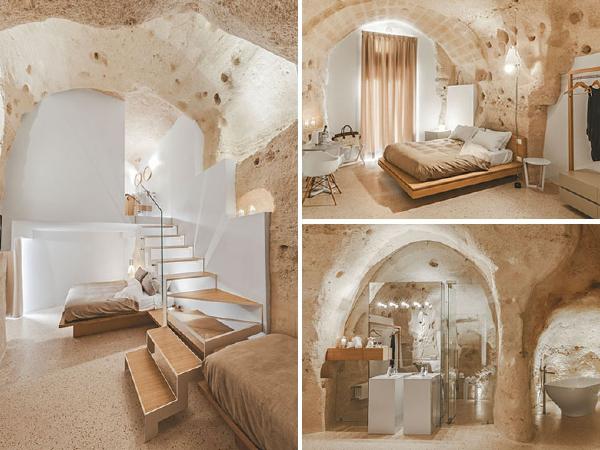 意大利300㎡洞穴酒店