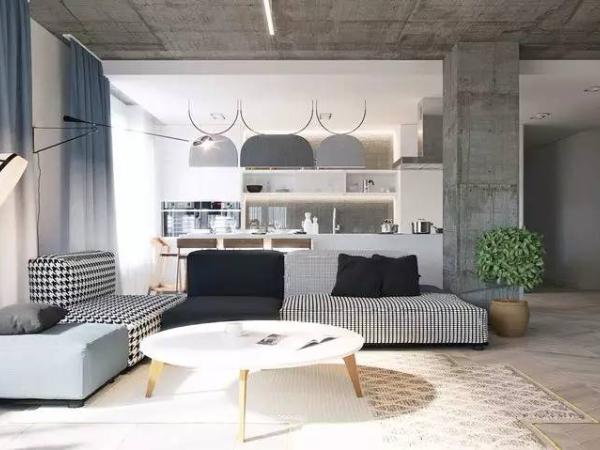 水泥质感现代公寓