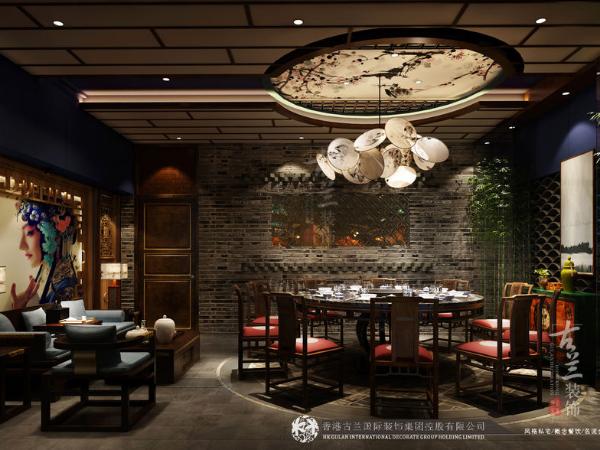 清新餐厅设计—宝鸡餐厅设计