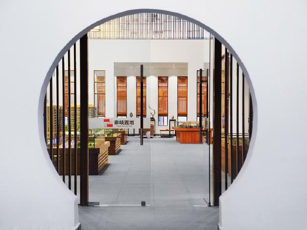 4800 m²揭阳乔南售楼处设计