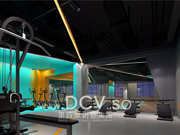 西安服务最好健身俱乐部设计-U BETTER健身会所