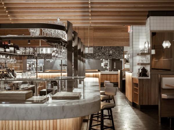 一个源自著名巴塞罗那市场的餐厅概念