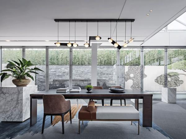 简净的东方美学,打造高贵、奢雅的生活空间