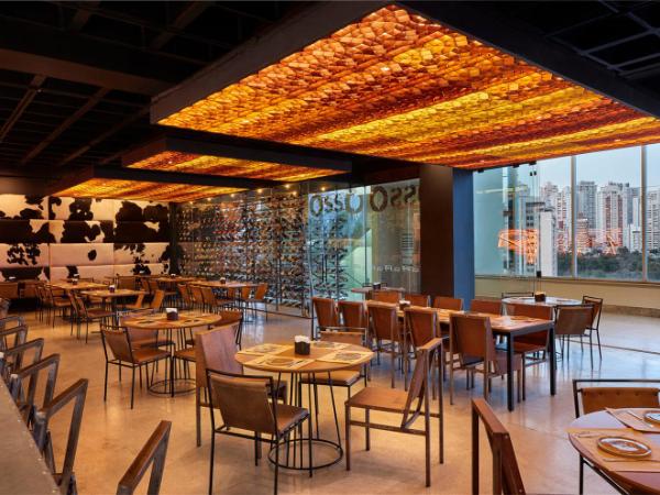 巴西OssO餐厅设计