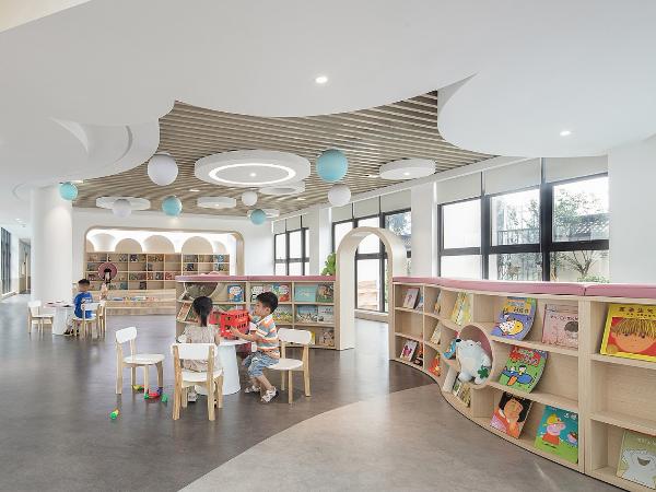 童乐·白云朵朵, 洞头区灵昆幼儿园 | 云艺设计