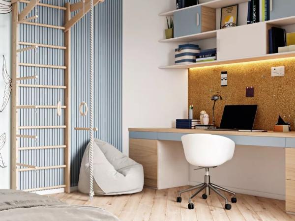 简约风现代公寓,隐形灯带打造高级感